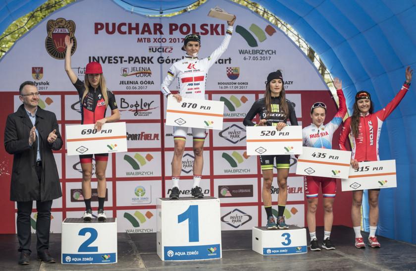 Włoszczowska i Wawak najszybsi w Wałbrzychu