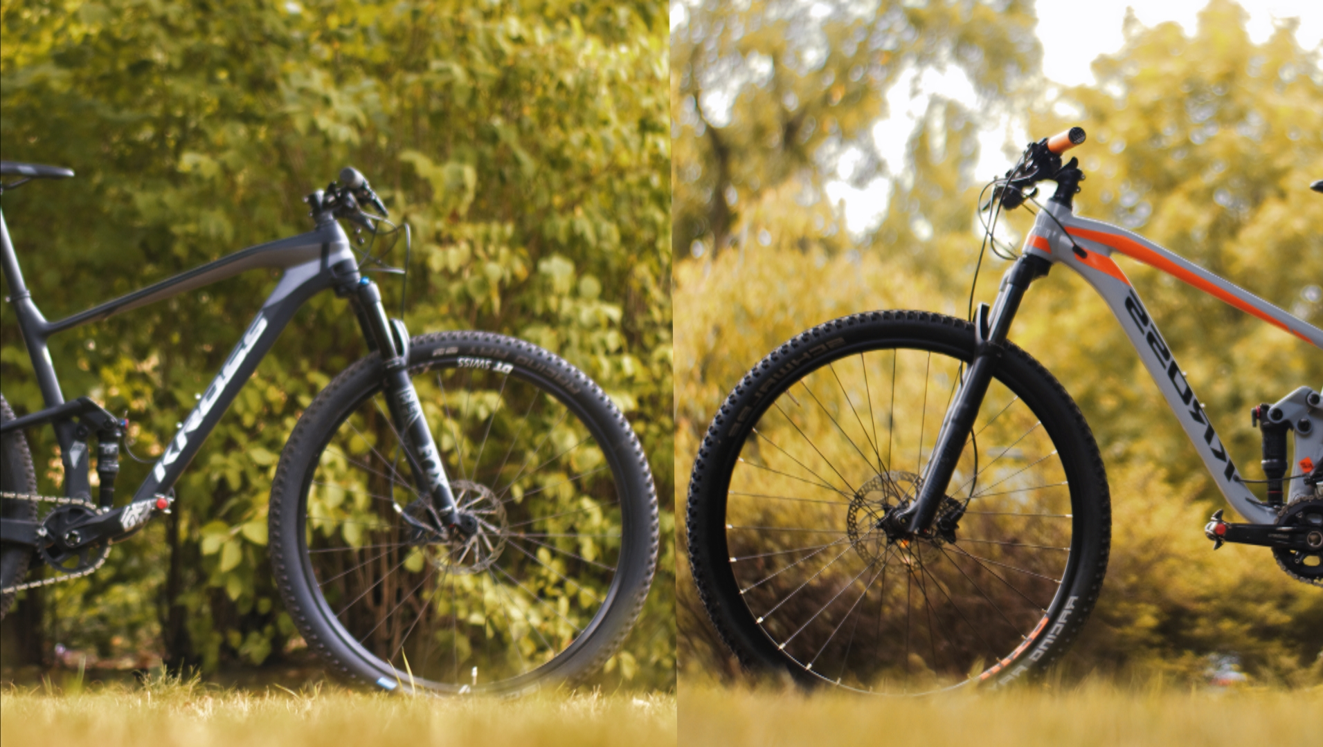 Kross Earth 2.0 vs. Kross Earth 4.0 – alu vs. carbon