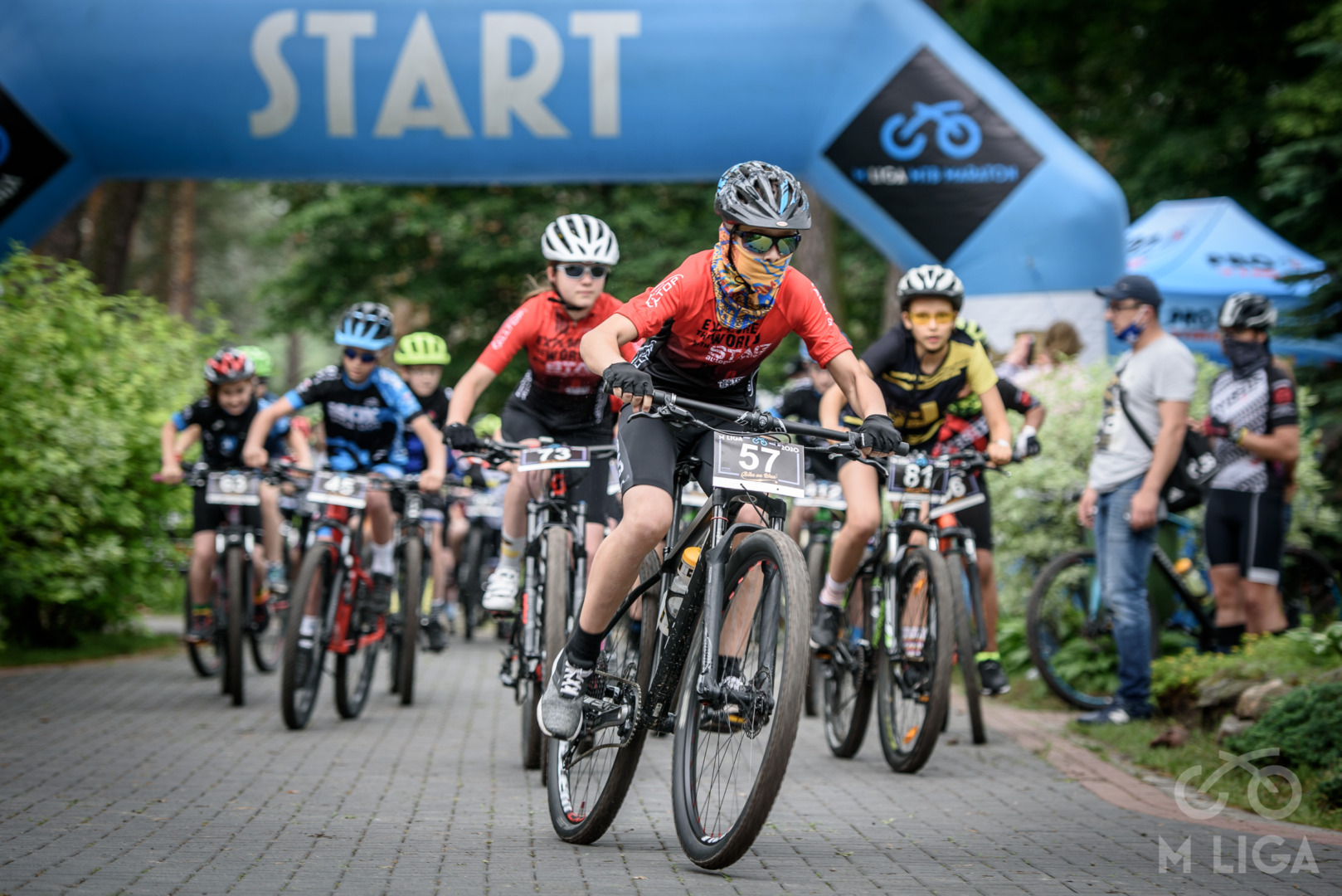 Inauguracja cyklu M LIGA MTB Maraton – Wawer