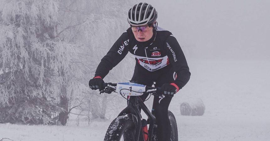 Maciej Stanowicz (Mitsubishi Materials MTB Team) – Monteria Fat Bike Race Góry Stołowe, Karłów