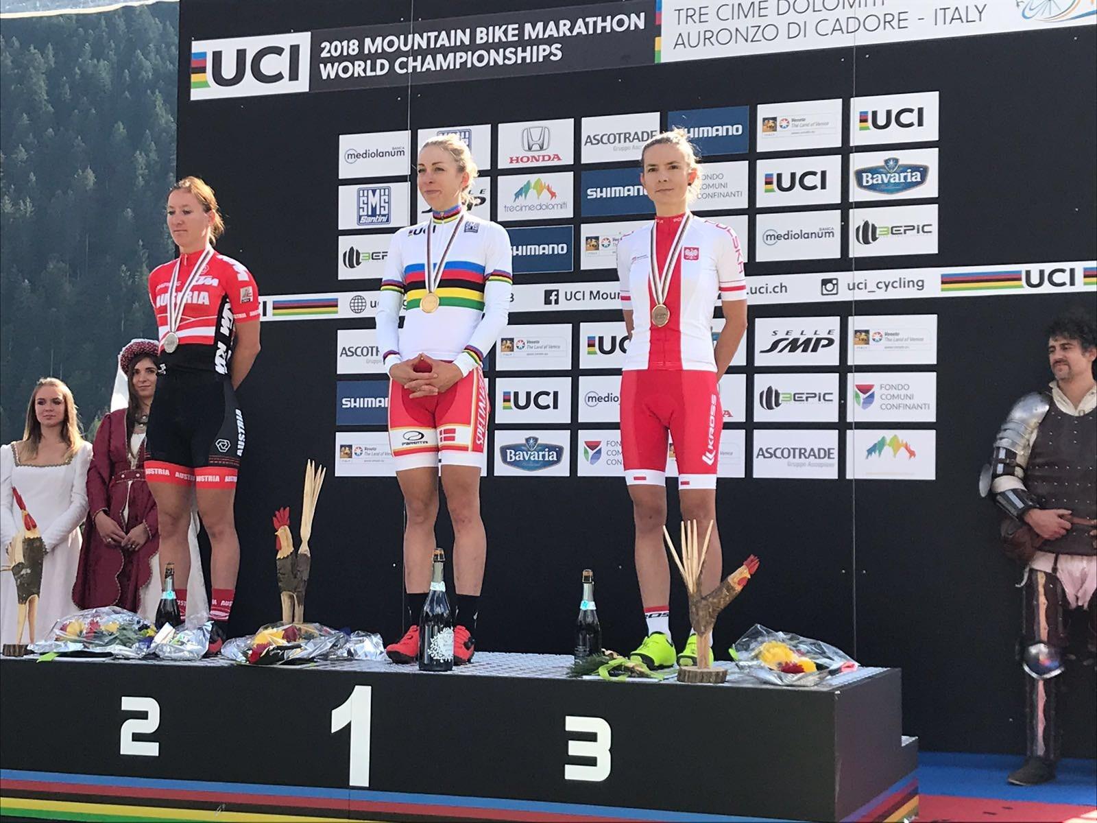 Maja Włoszczowska trzecia na Mistrzostwach Świata w maratonie MTB