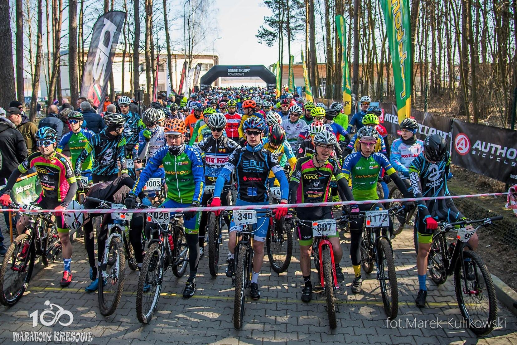Maratony Kresowe w Białymstoku rozpoczęły dziesiąty sezon ścigania na Podlasiu