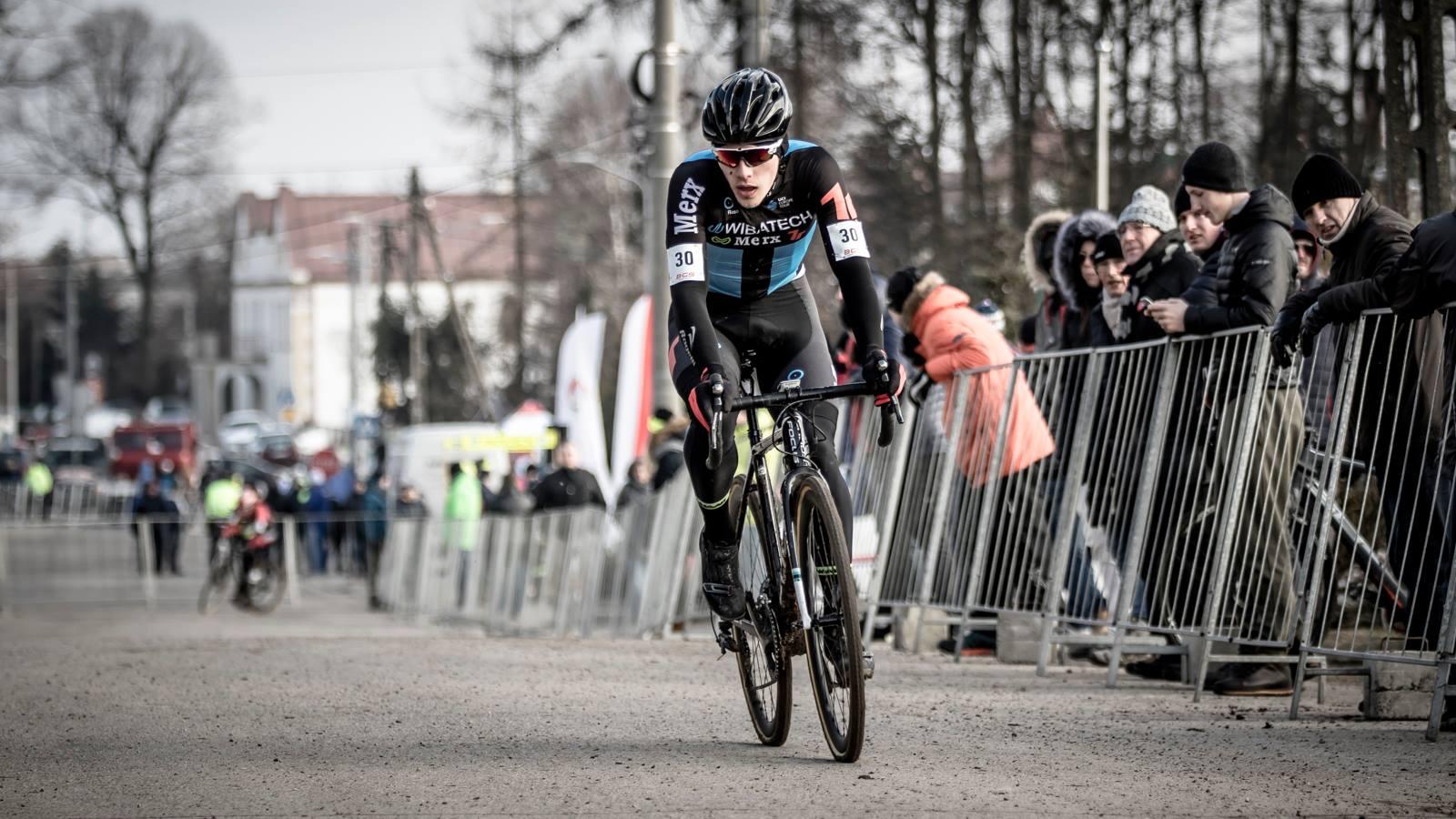 """Marceli Bogusławski (Wibatech Merx 7R): """"w minionym sezonie letnim postanowiłem przejść z kolarstwa górskiego na szosowe"""""""
