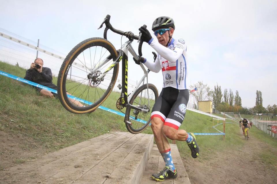 Marek Konwa (Volkswagen Samochody Użytkowe MTB Team) – Toi Toi Cup, Slany UCI C1