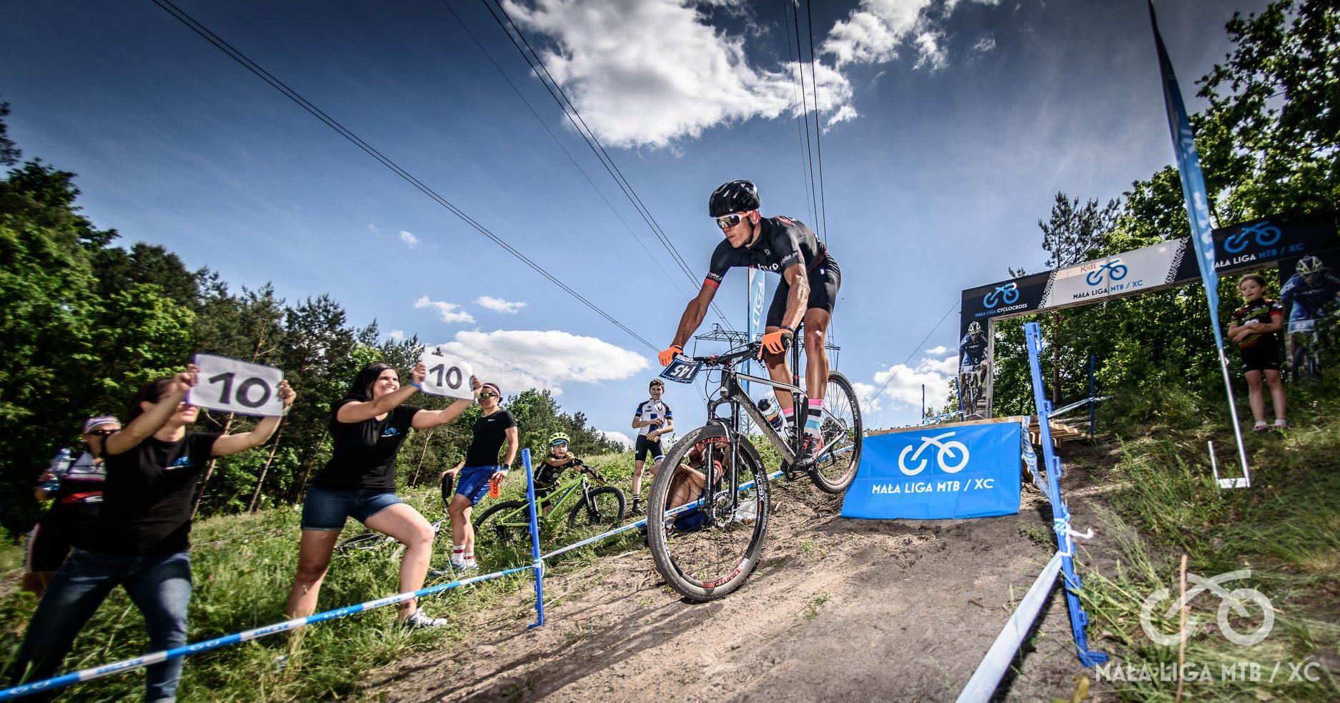 Mateusz Rejch (t-bike.pl Racing Team) – Mała Liga XC, Lasek
