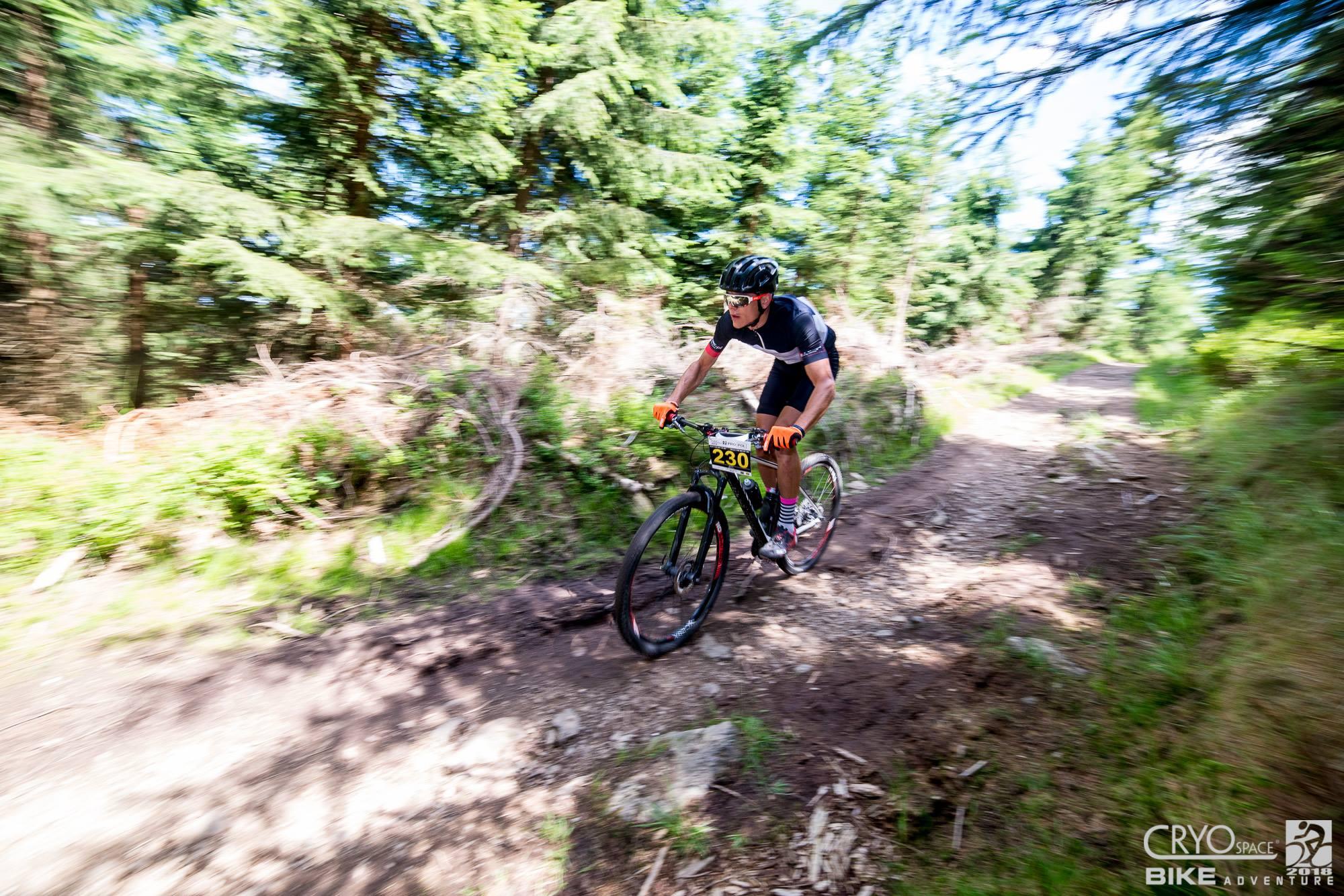 Kolarstwo górskie w tłumaczeniu Mateusza Rejcha, na podstawie Bike Adventure