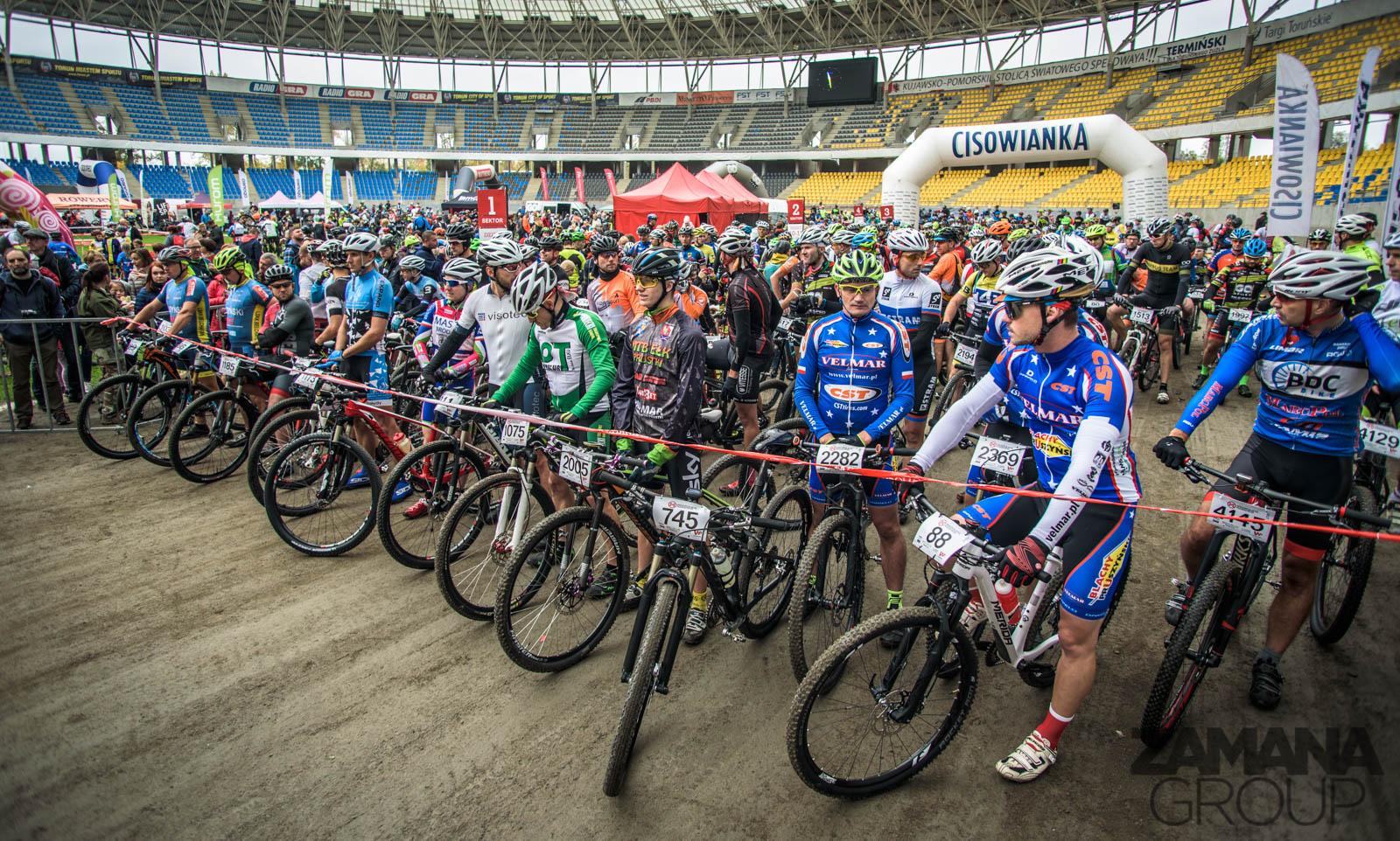 Poruszą Toruń: widowiskowy Finał Cisowianka Mazovia MTB Marathon