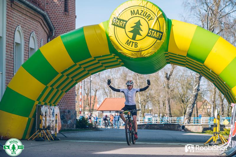 Twierdza Boyen zdobyta, wystartował cykl Mazury MTB 2017