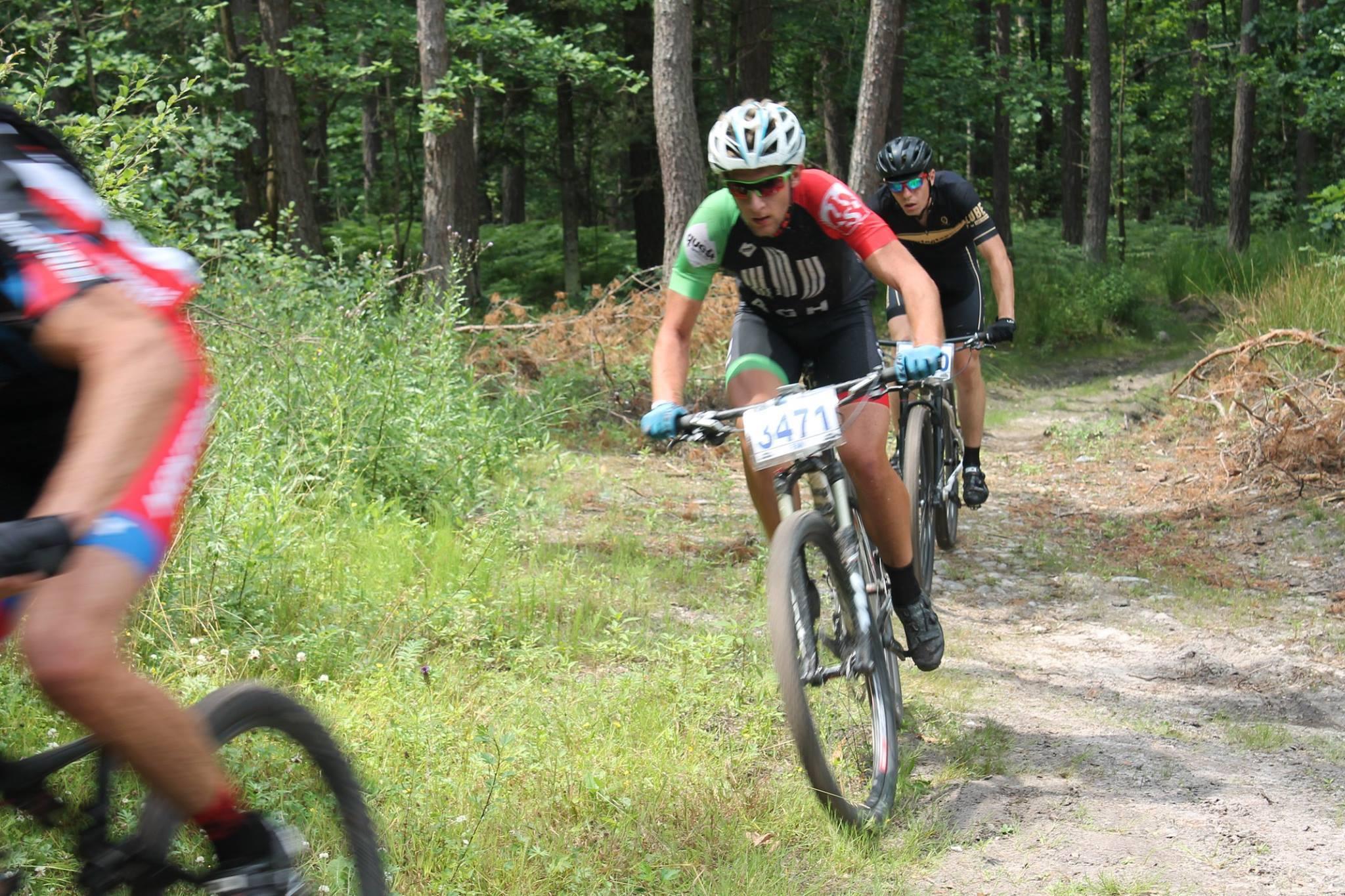 Agnieszka Wilczyńska / Michał Laskowski (AGH Cycling Team) – MTB Cross Maraton, Morawica