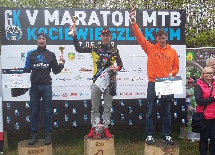 Michał Różański (Trigar MTB Team) – MTB Kociewie Szlakiem, Szpęgawsk