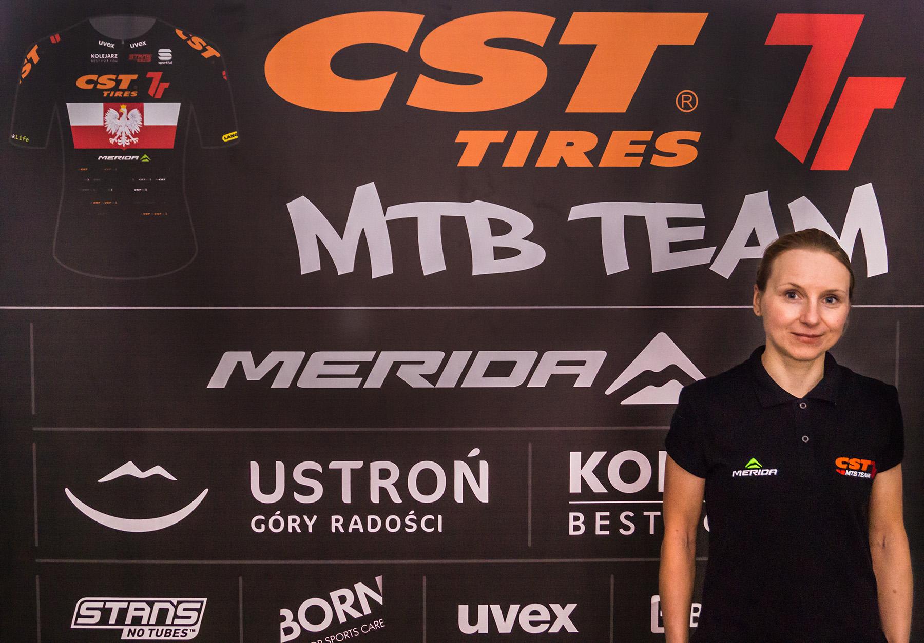 Michalina Ziółkowska wzmacnia Team CST 7R