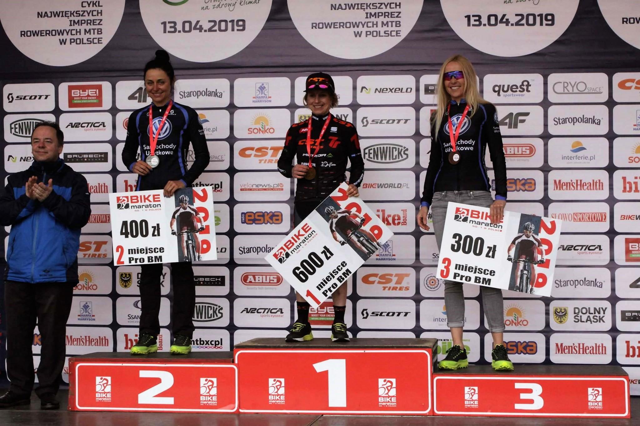 Wygrana Michaliny Ziółkowskiej w Bike Maratonie