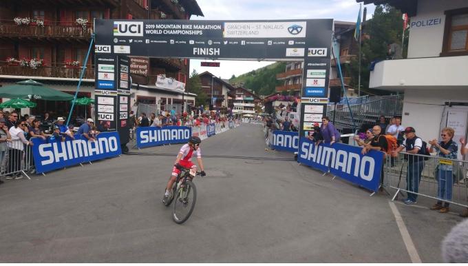 Michalina Ziółkowska na 17 miejscu w Mistrzostwach Świata w maratonie MTB