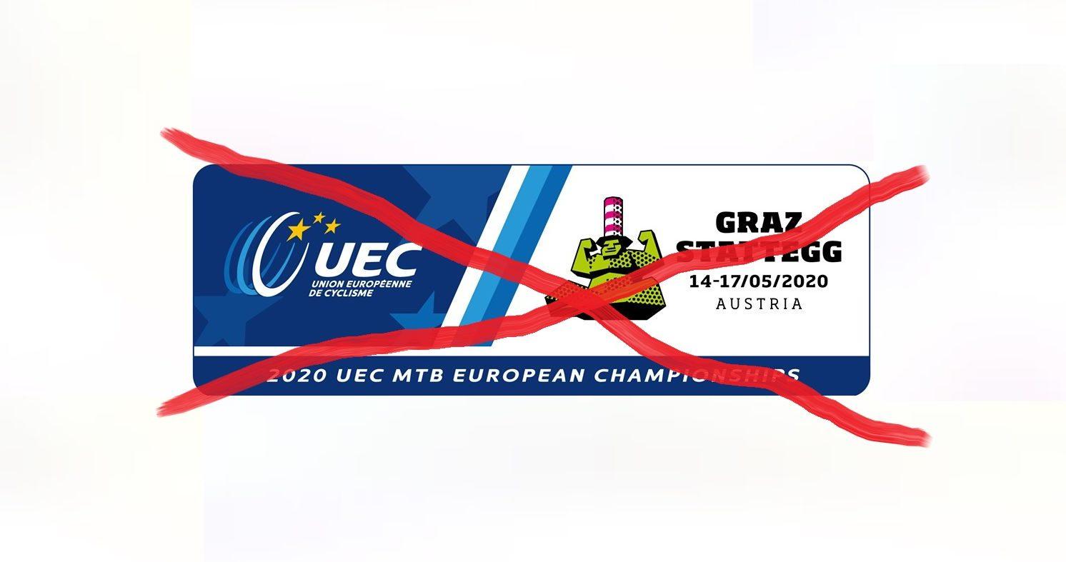Mistrzostwa Europy w kolarstwie górskim 2020 odwołane