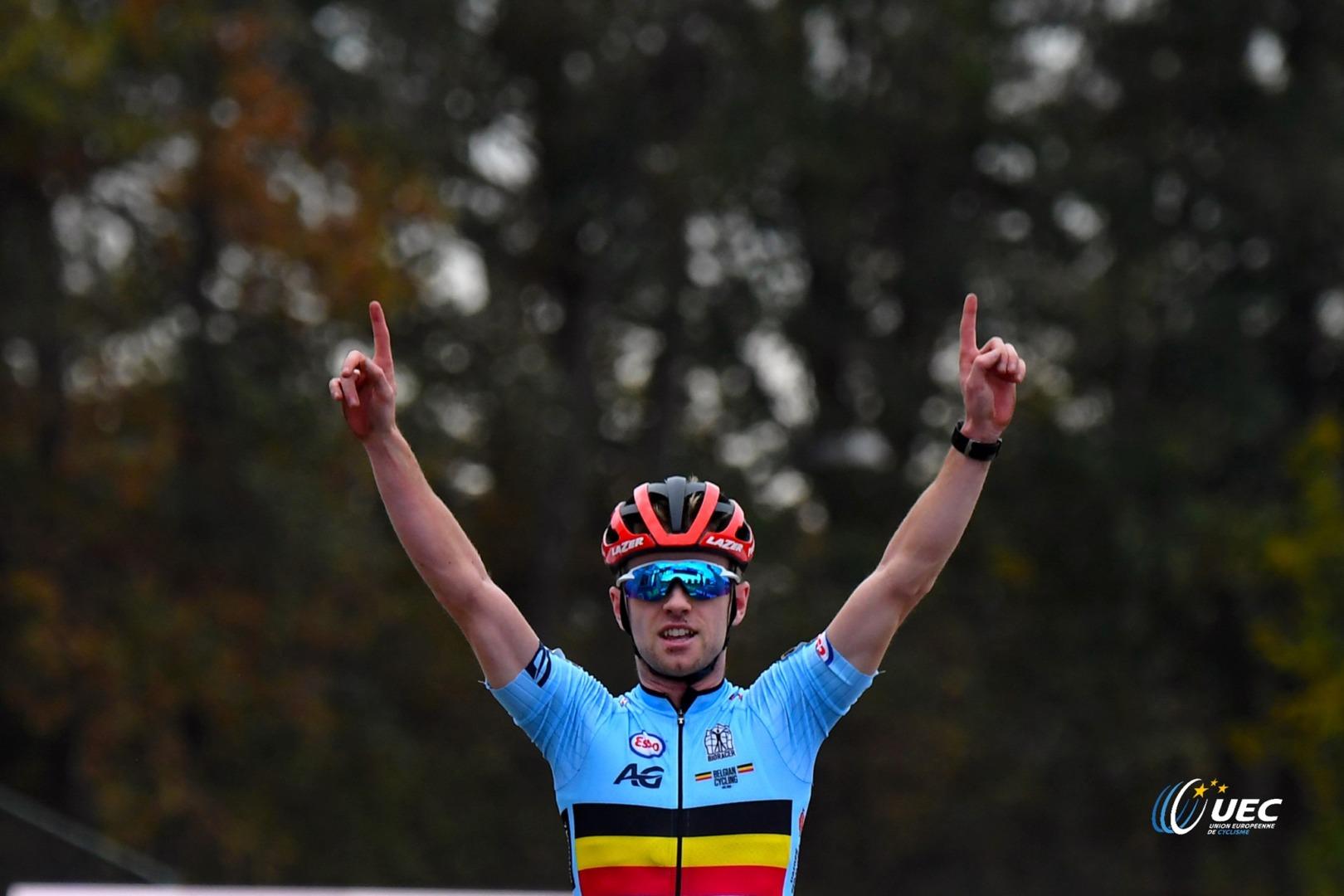 Eli Iserbyt z tytułem Mistrza Europy w kolarstwie przełajowym