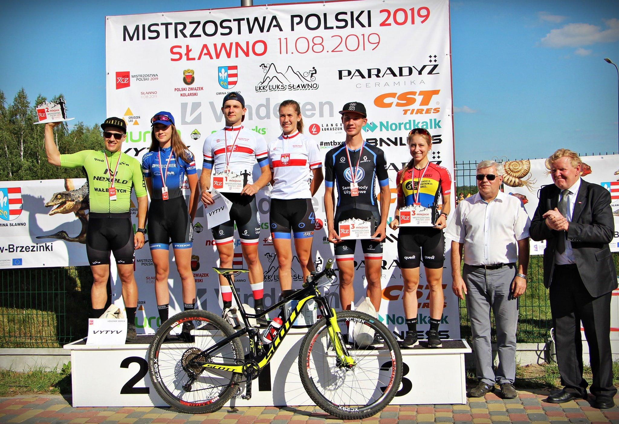Mistrzostwa Polski MTB Eliminator: Nowak i Hudyka najszybsi