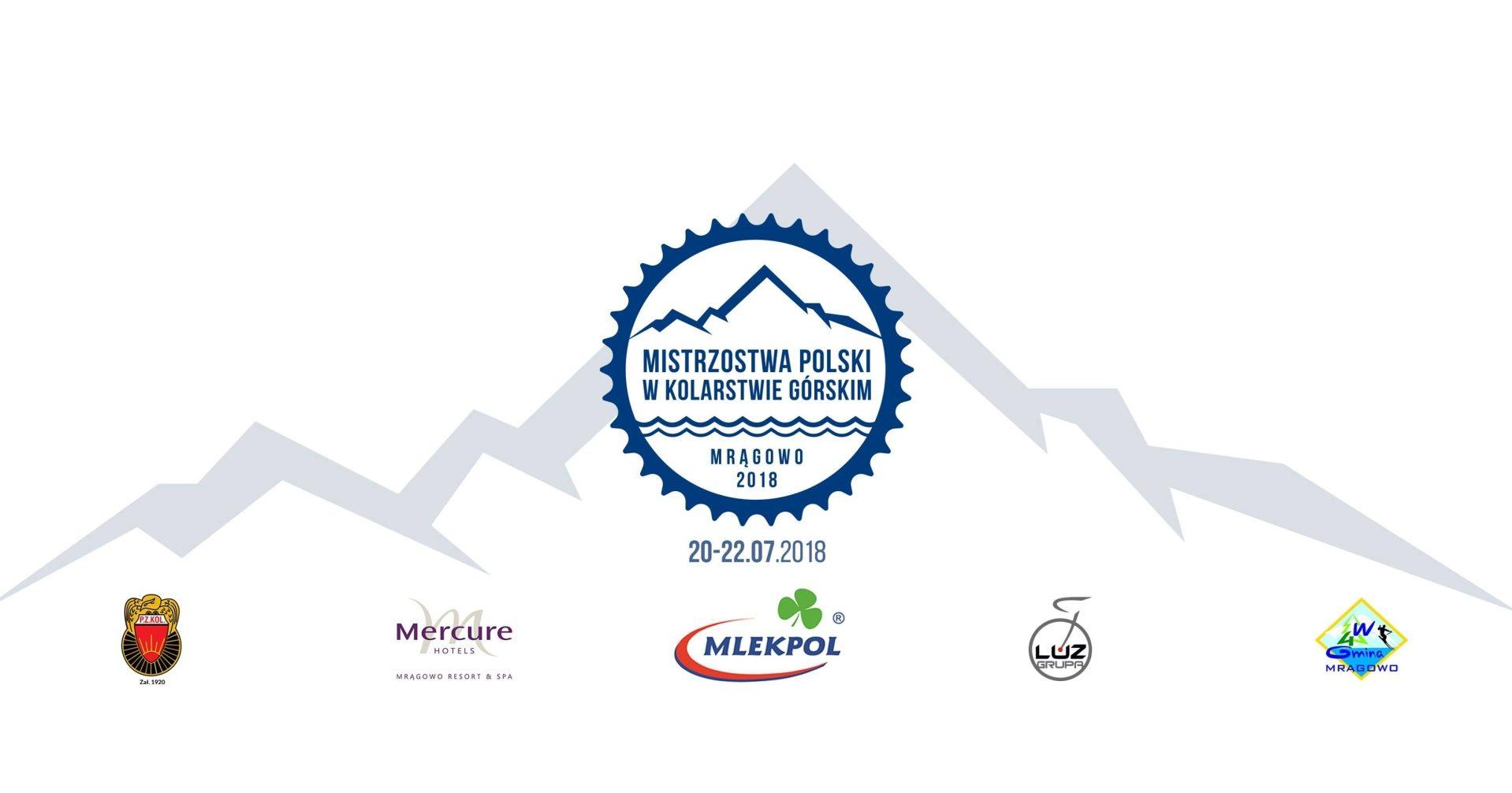 Mistrzostwa Polski w kolarstwie górskim 20-22 lipca w Mrągowie