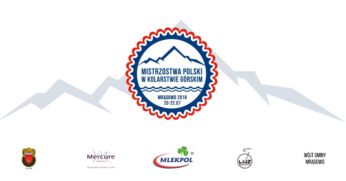 Objazd trasy Mistrzostw Polski w kolarstwie górskim – Mrągowo 2018