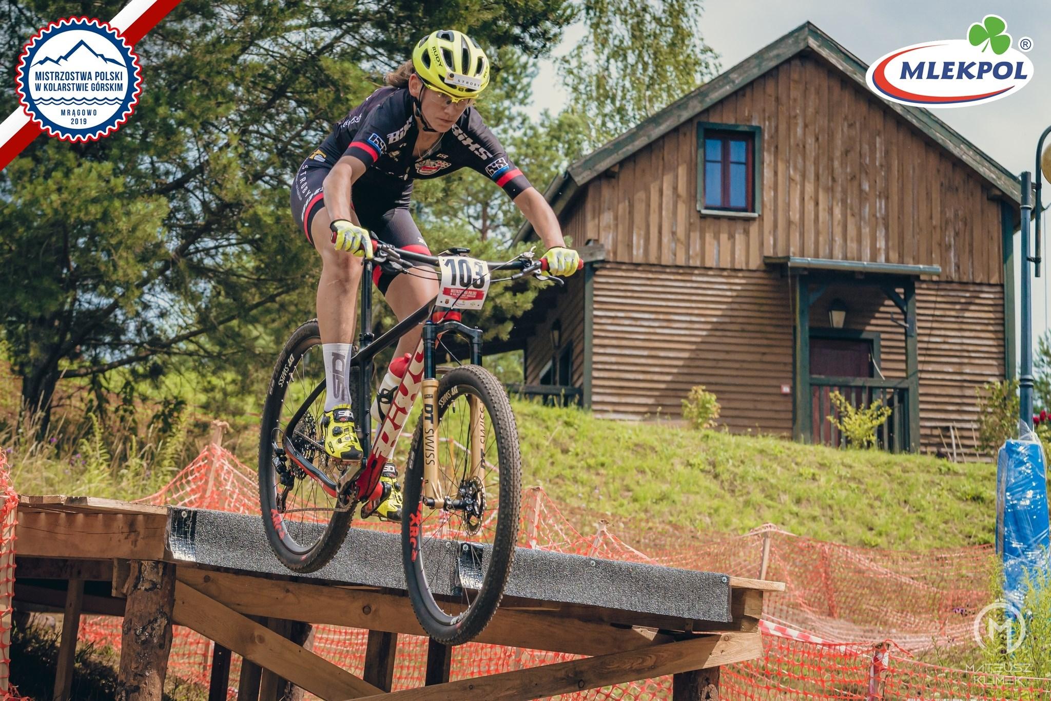 Paula Gorycka (Struby BiXS Team) – Mistrzostwa Polski w kolarstwie górskim, Mrągowo