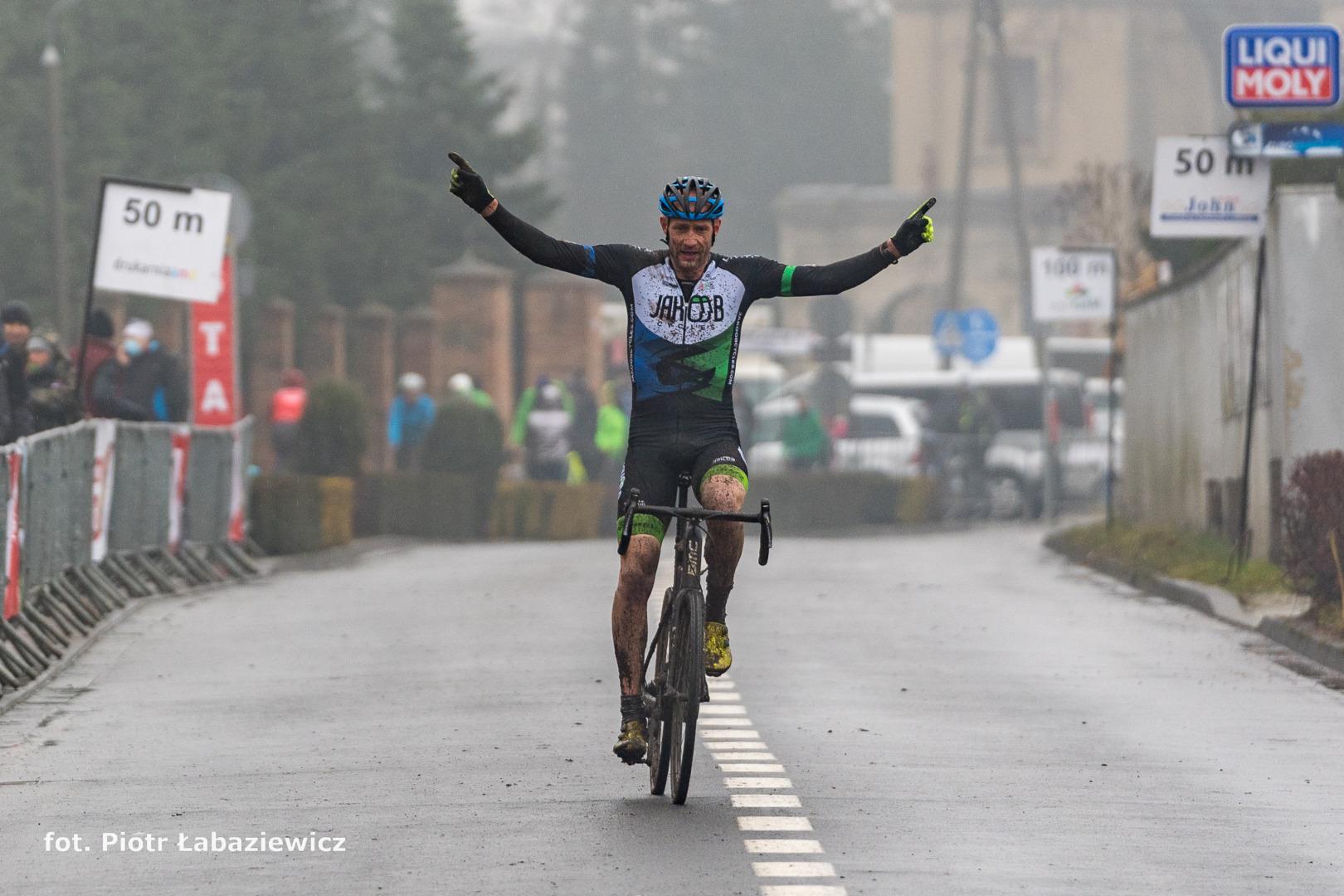 Jarosław Wolcendrof (Jakoobcycles.com) – Mistrzostwa Polski w kolarstwie przełajowym, Włoszakowice 2021