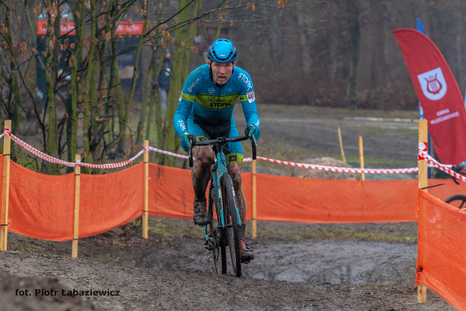 Tomasz Majewski (Retro Stork Team) – Mistrzostwa Polski w kolarstwie przełajowym, Włoszakowice 2021