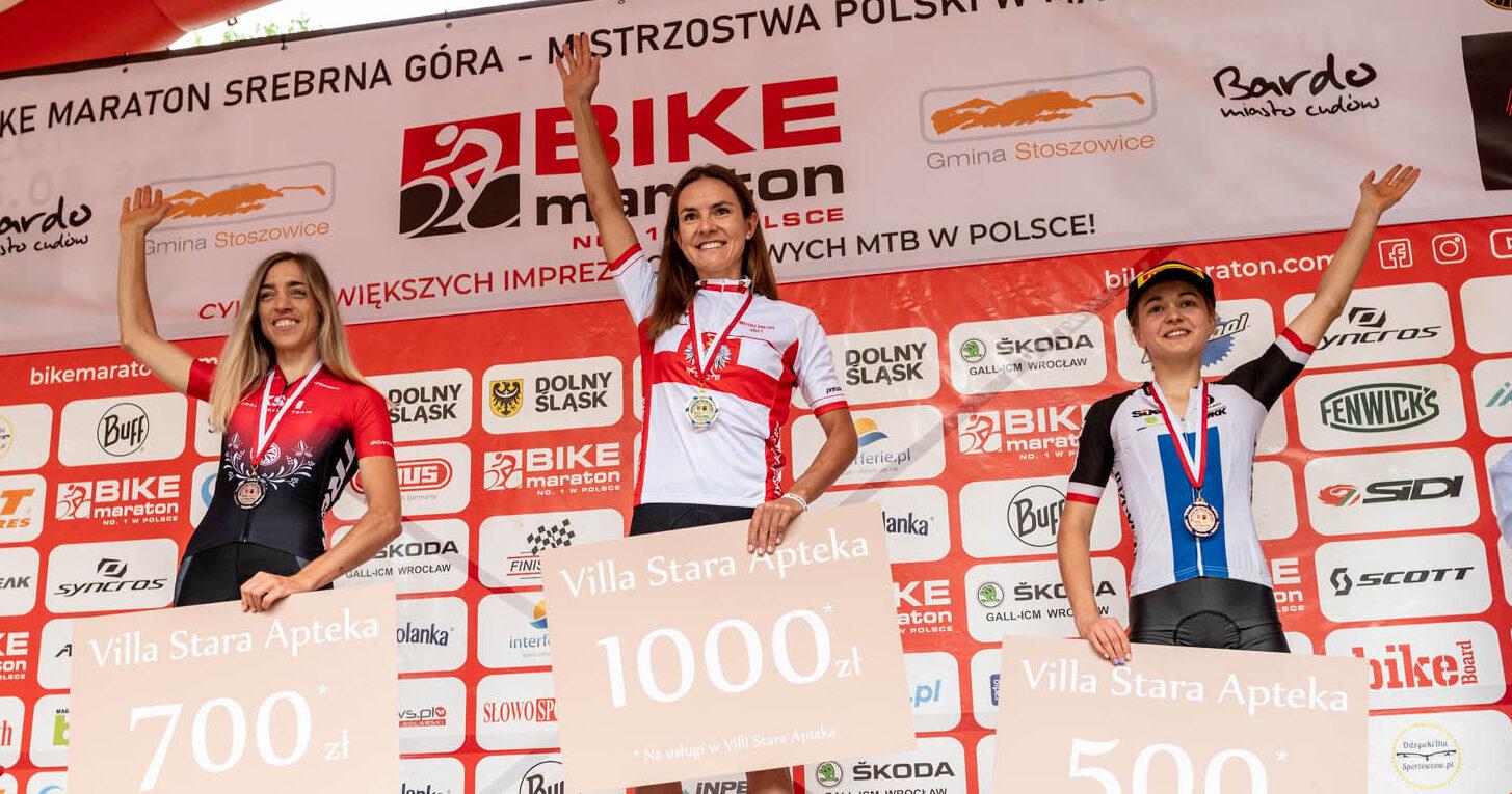 Maja Włoszczowska Mistrzynią Polski, Katarzyna Solus Miśkowicz i Klaudia Czabok na podium | MP XCM, Srebrna Góra