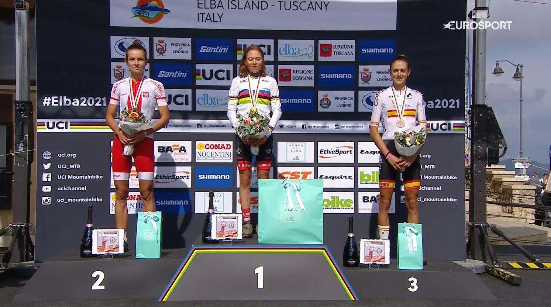 Srebrny medal Mai Włoszczowskiej na zakończenie sportowej kariery! | MŚ XCM, Capoliveri, Elba, Włochy