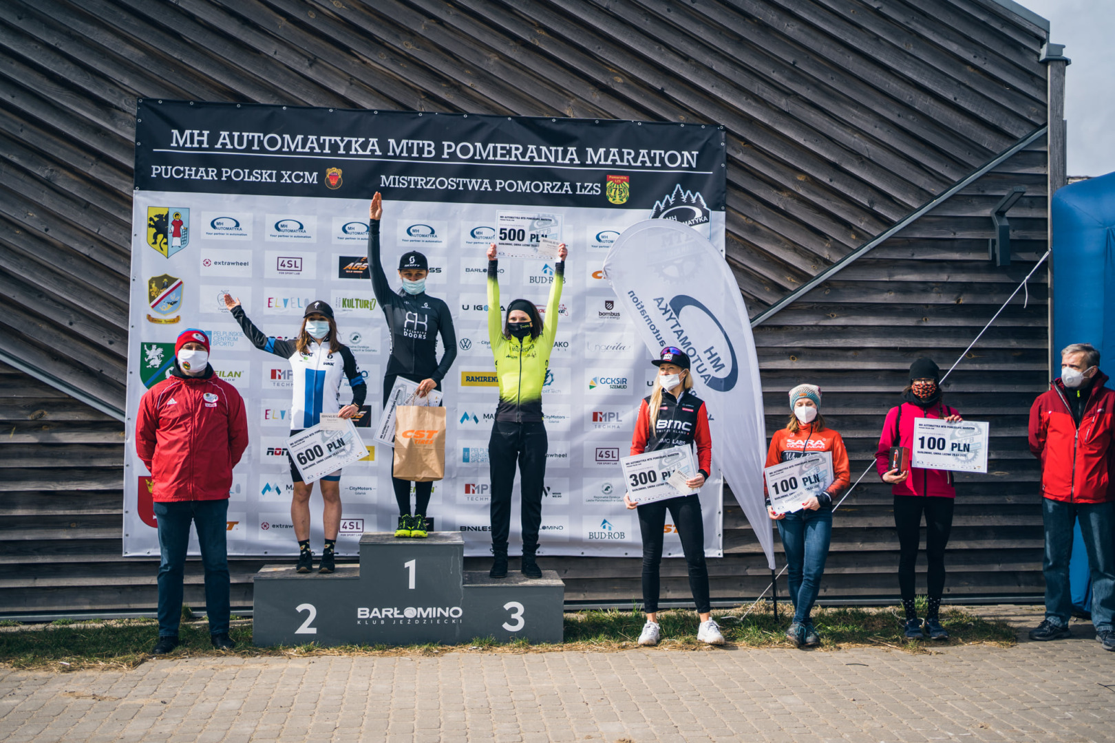 Zawodnicy RK Exclusive Doors MTB Team podsumowują start w Pucharze Polski w maratonie MTB w Luzino