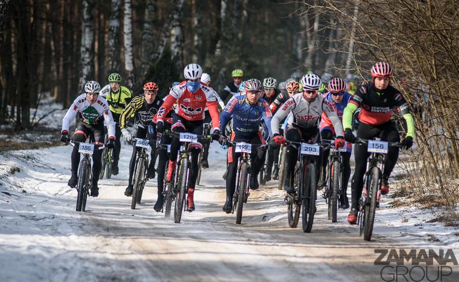 Zima w lesie, wiosna na mecie – Northtec MTB Zimą w Karczewie