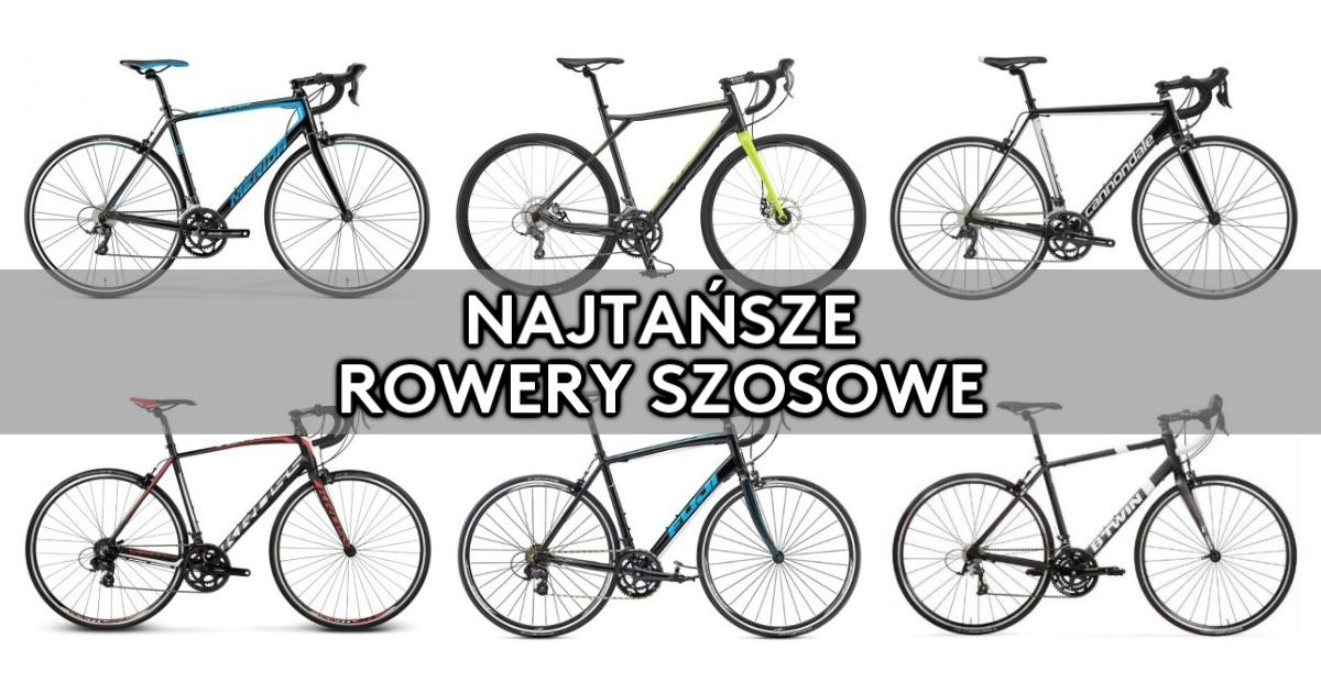 Najtańszy rower szosowy [2017]