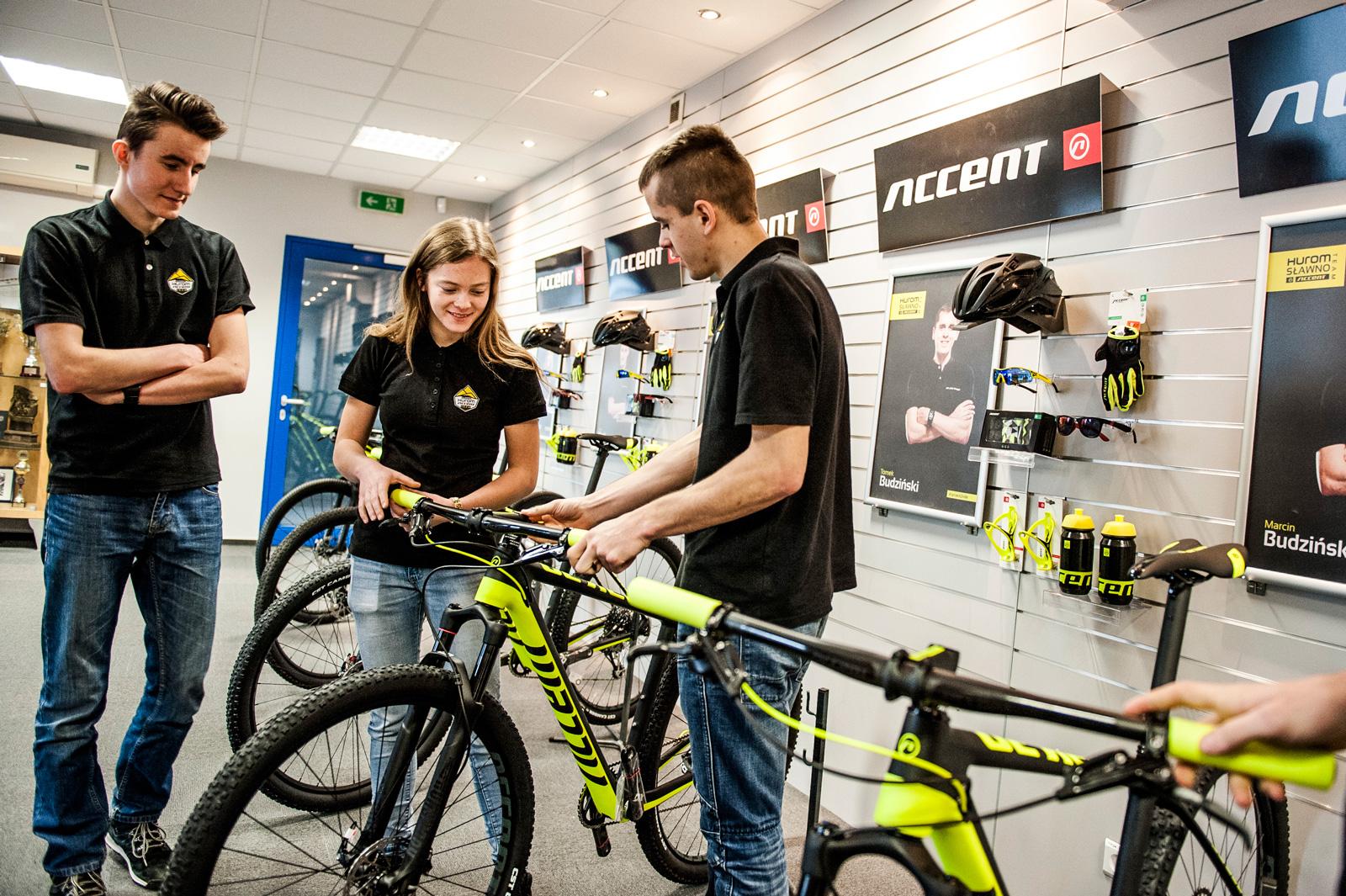 Hurom Sławno Accent z nowymi rowerami