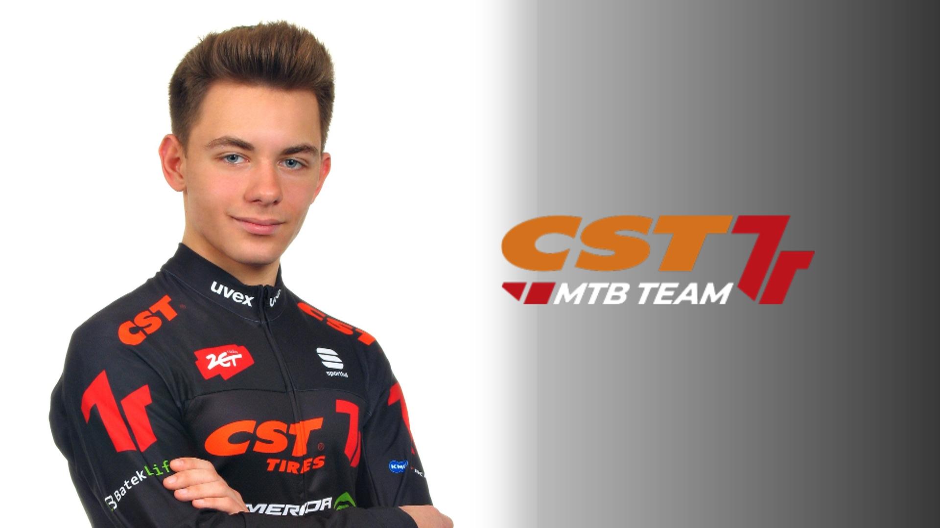Oliwier Machura nowym zawodnikiem CST 7R MTB Team