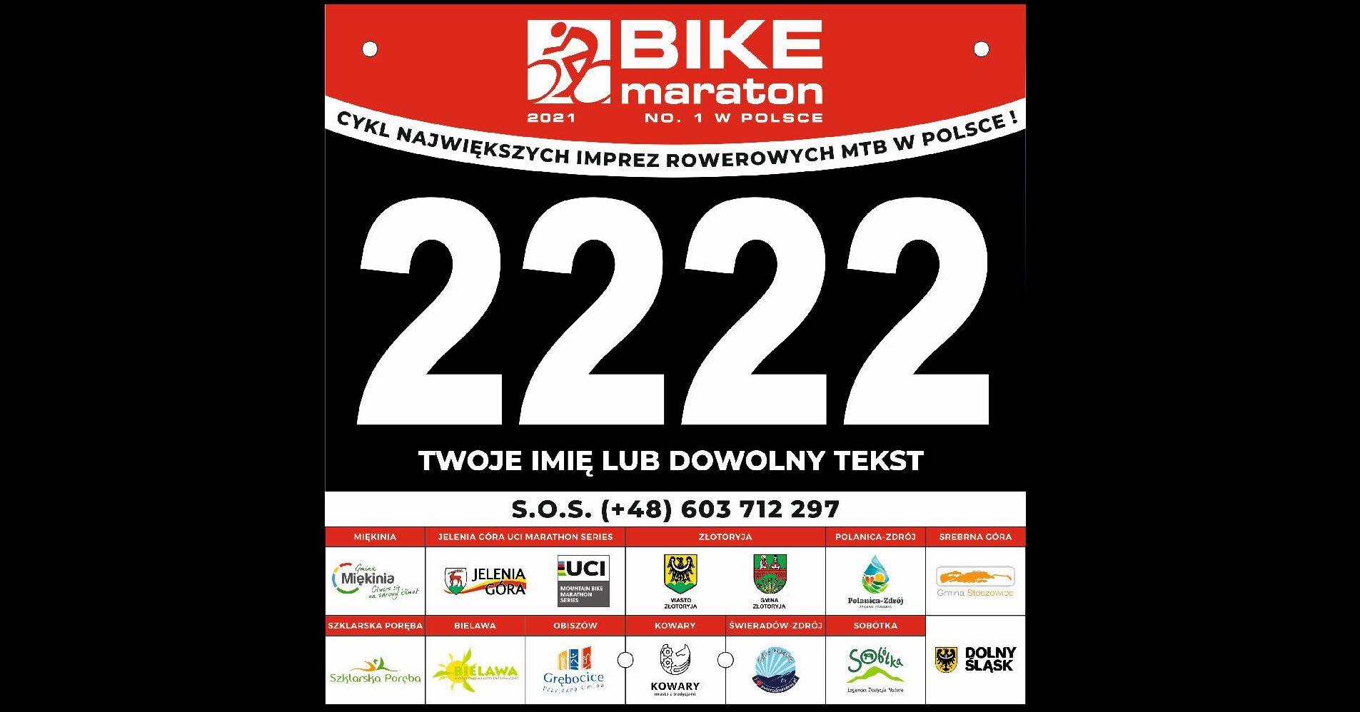 Bike Maraton 2021 – rusza rezerwacja i sprzedaż numerów startowych