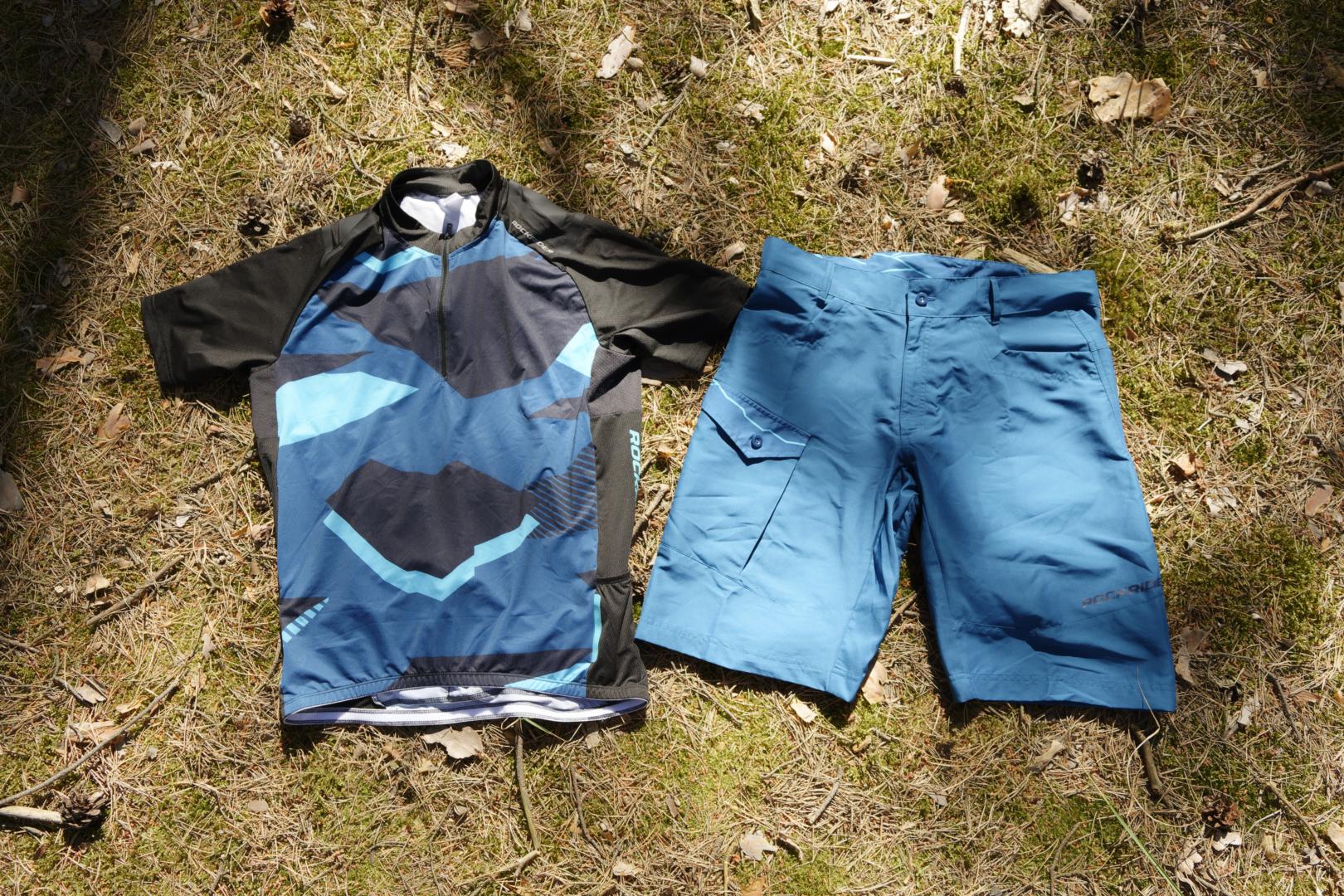 Komplet odzieży Rockrider MTB za mniej niż 130 pln