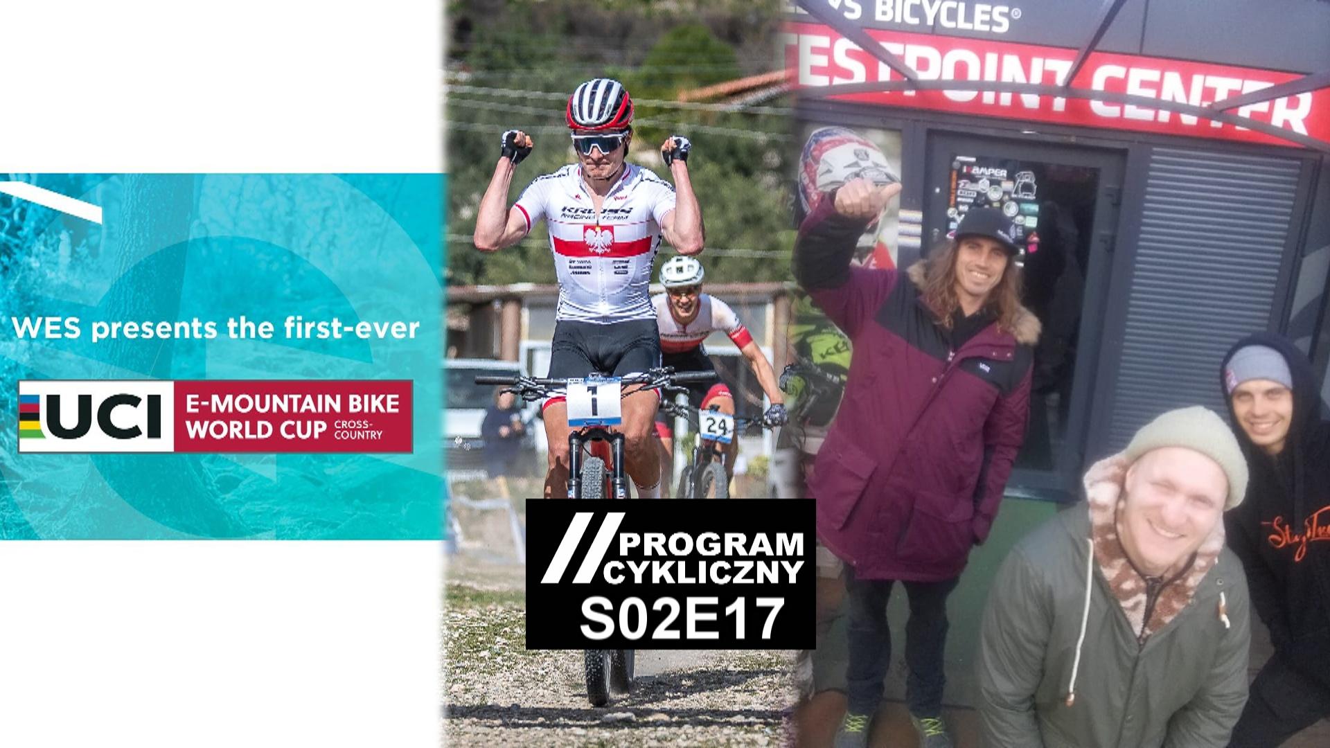 Program Cykliczy S02E17 – Nico Vink w Srebrnej Górze, IMBA w Świeradowie, Gravele na Bike Maratonie