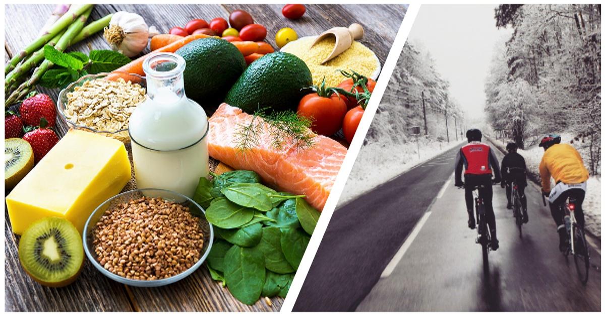 Dieta jako wsparcie kolarskiego treningu zimą