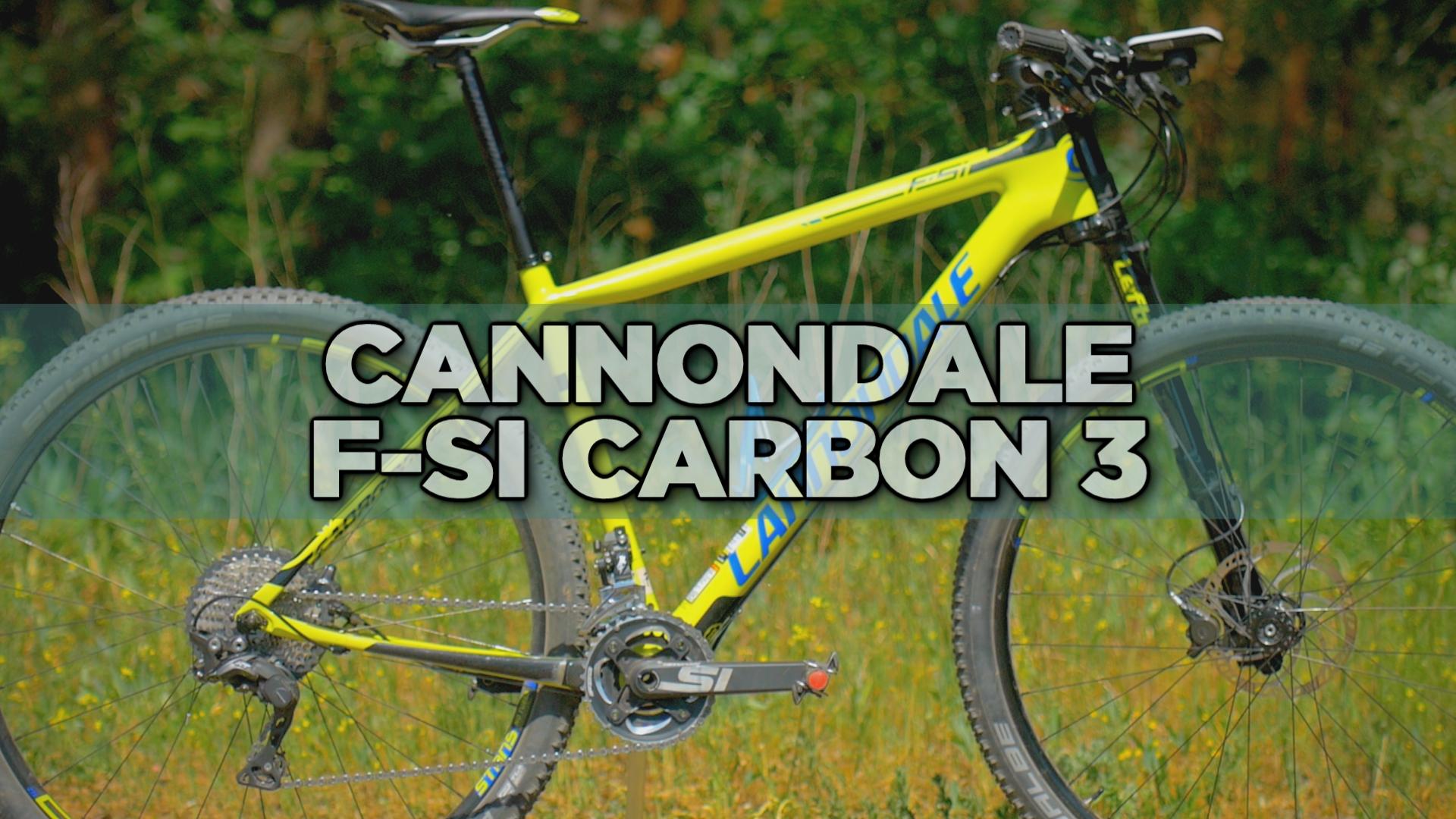 Cannondale F-Si Carbon 3 2017