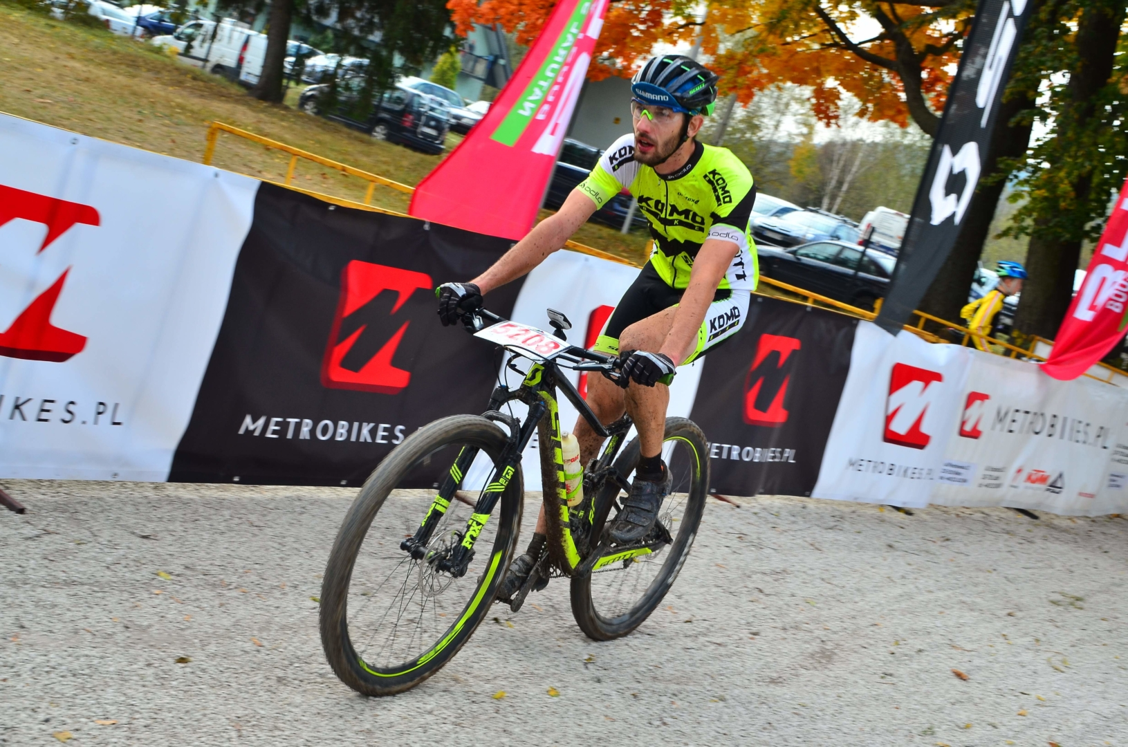 Piotr Truszczyński (Komobike Scott) – Metrobikes.pl MTB Cross Maraton, Masłów Ciekoty