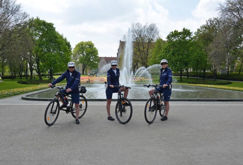 policja poznań na rowerach kross (2)