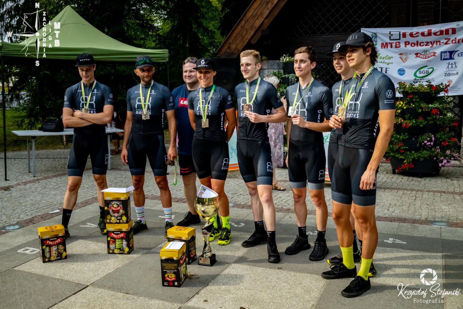Zawodnicy RK Exclusive Doors MTB Team na podium Pucharu Polski w maratonie MTB w Połczynie Zdroju