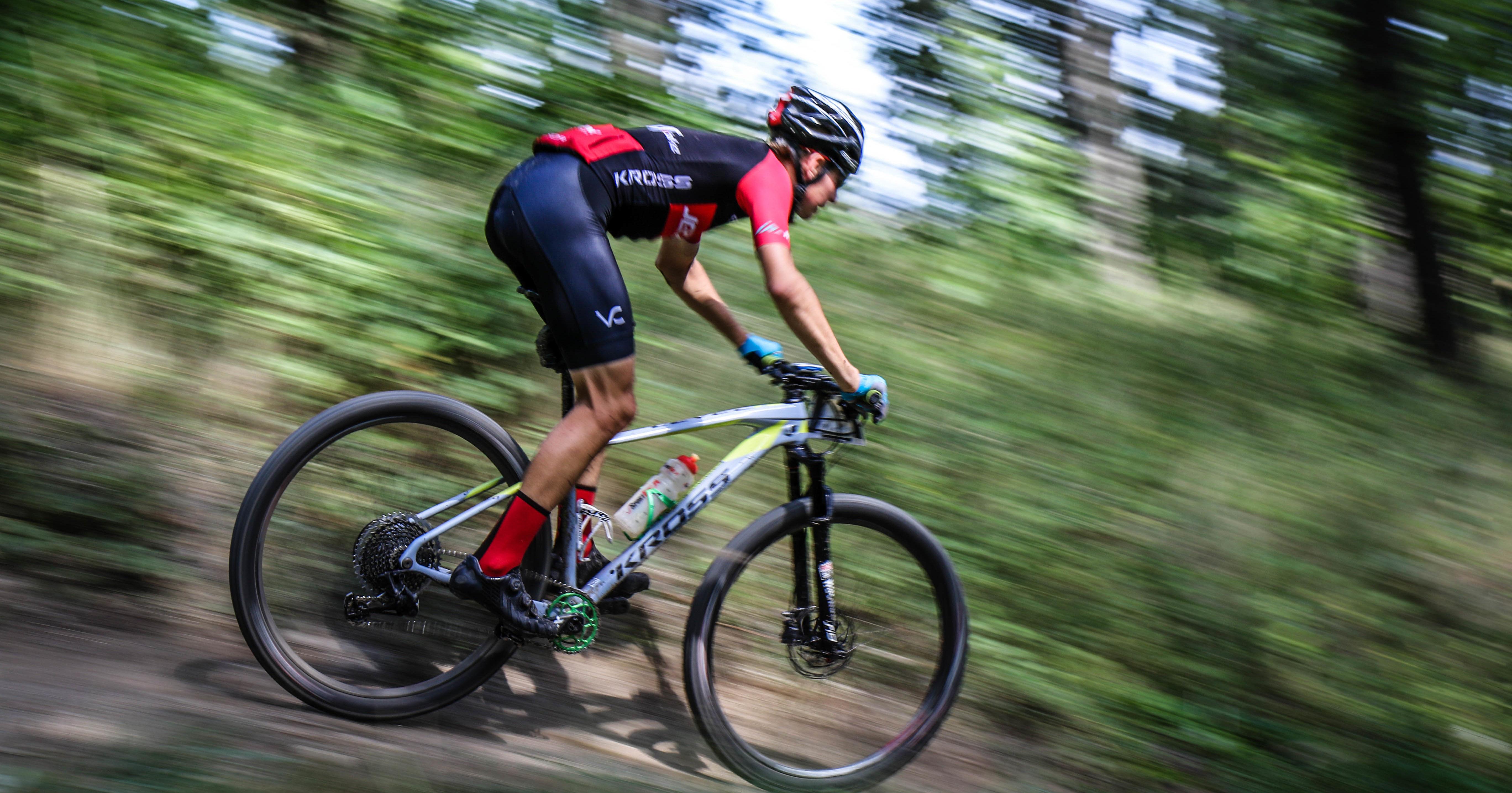 Maciej Jeziorski (jezior.bike) – Puchar Strefy MTB Sudety, Srebrna Góra