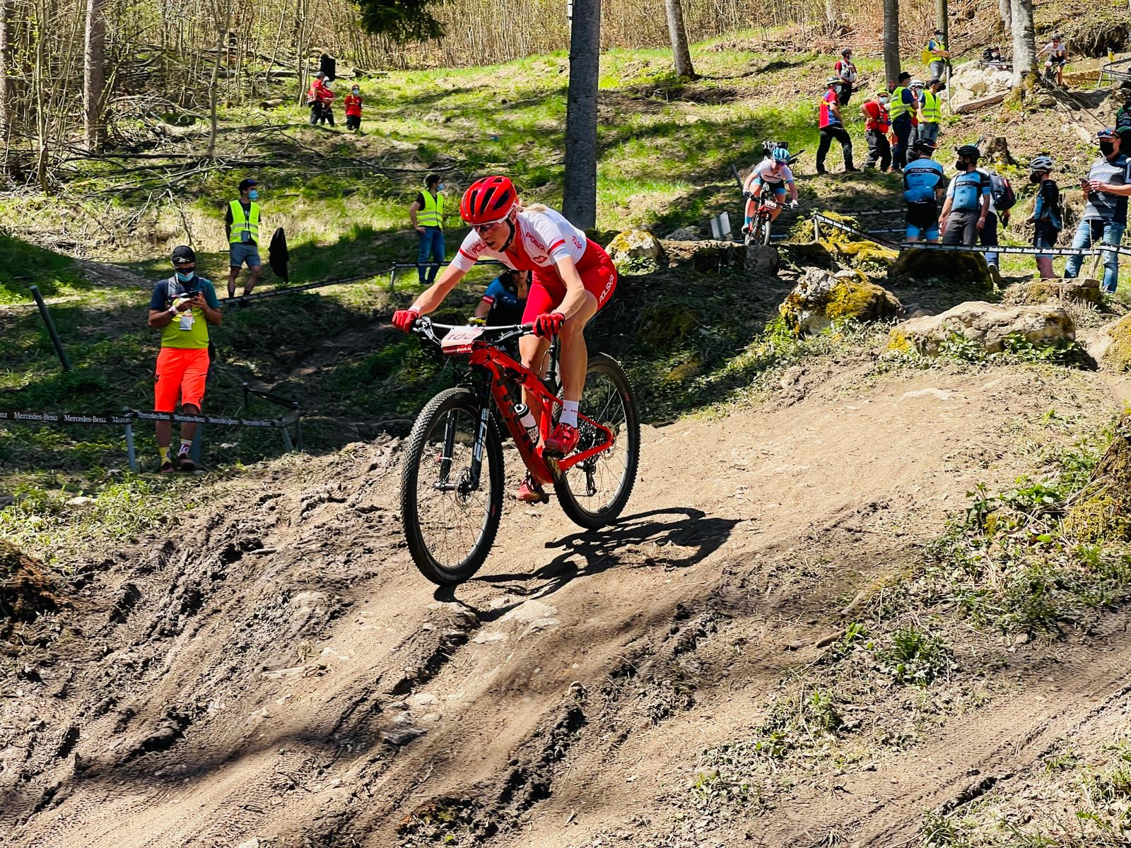 """Katarzyna Solus Miśkowicz (KSM Trek Racing): """"49. lokata to na pewno nie jest dobry wynik""""   Puchar Świata MTB XCO, Albstadt"""