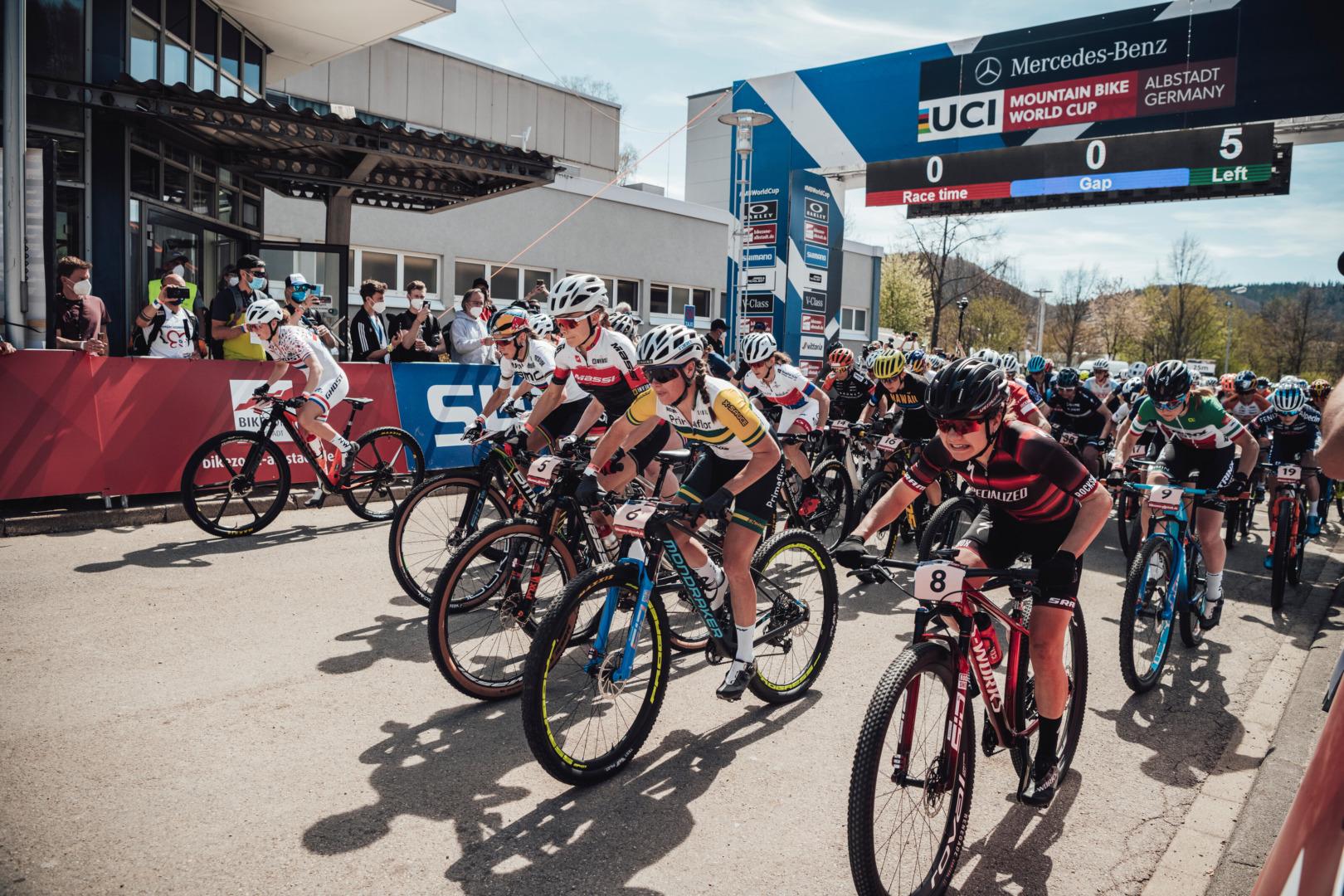 Komentarze postartowe – elita kobiet | Puchar  Świata MTB XCO, Albstadt
