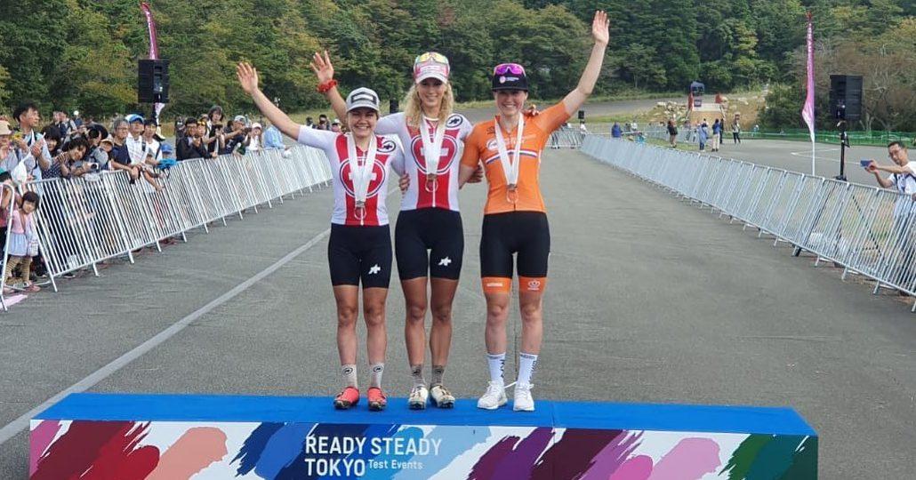 Schurter i Neff wygrywają wyścig próbny w Tokio, Włoszczowska 11