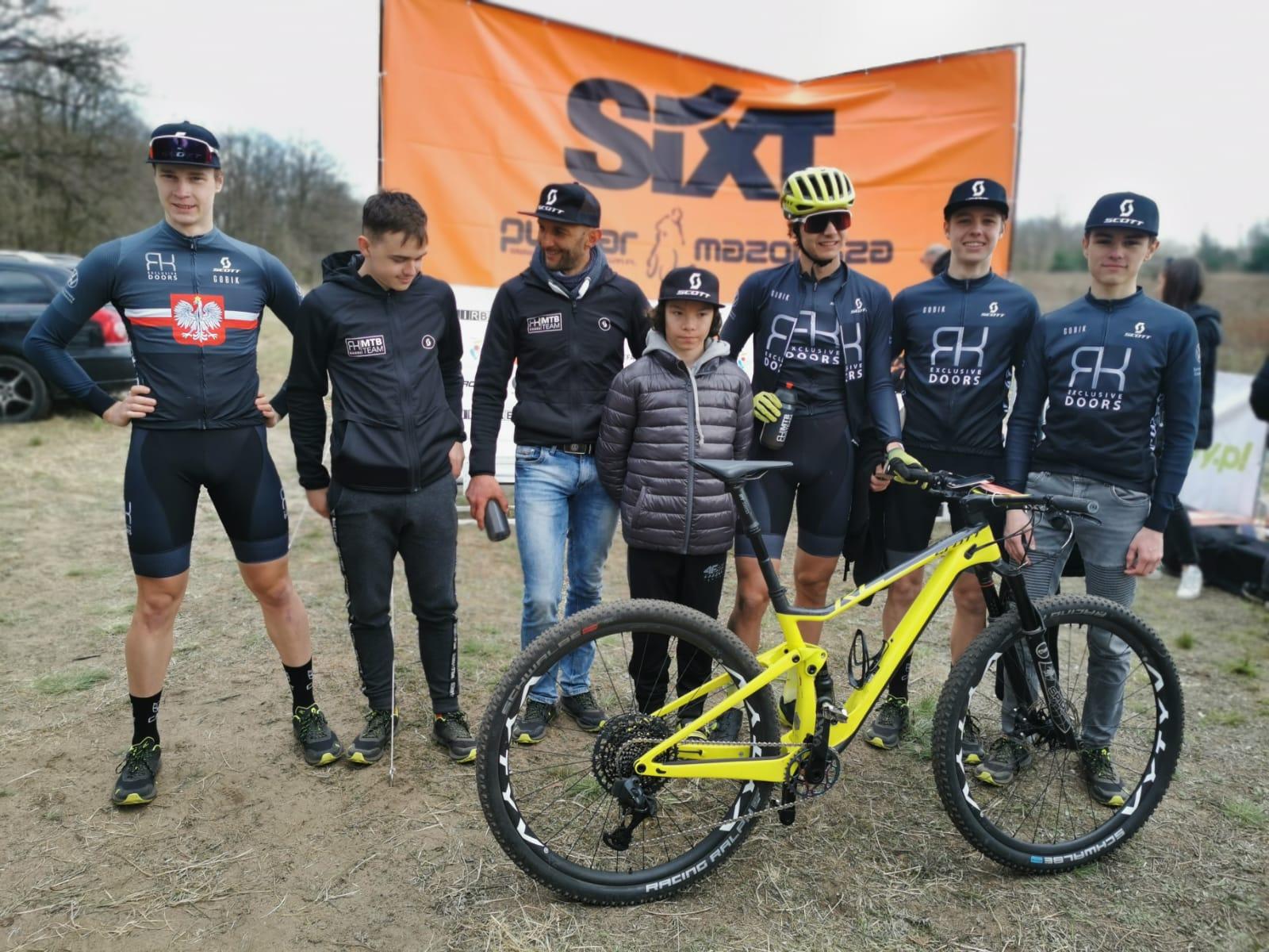 Zawodnicy RK Exclusive Doors MTB Team podsumowują udział w SIXT Puchar Mazowsza MTB XC w Jabłonnie
