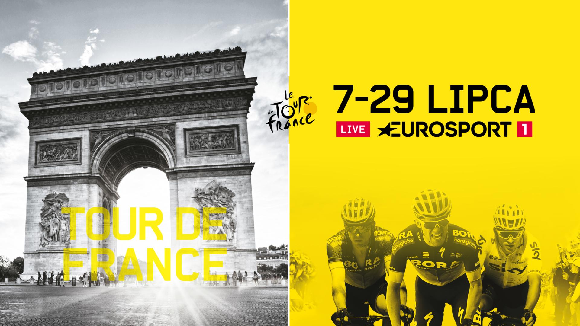 Tour de France w Eurosporcie w nowej odsłonie!