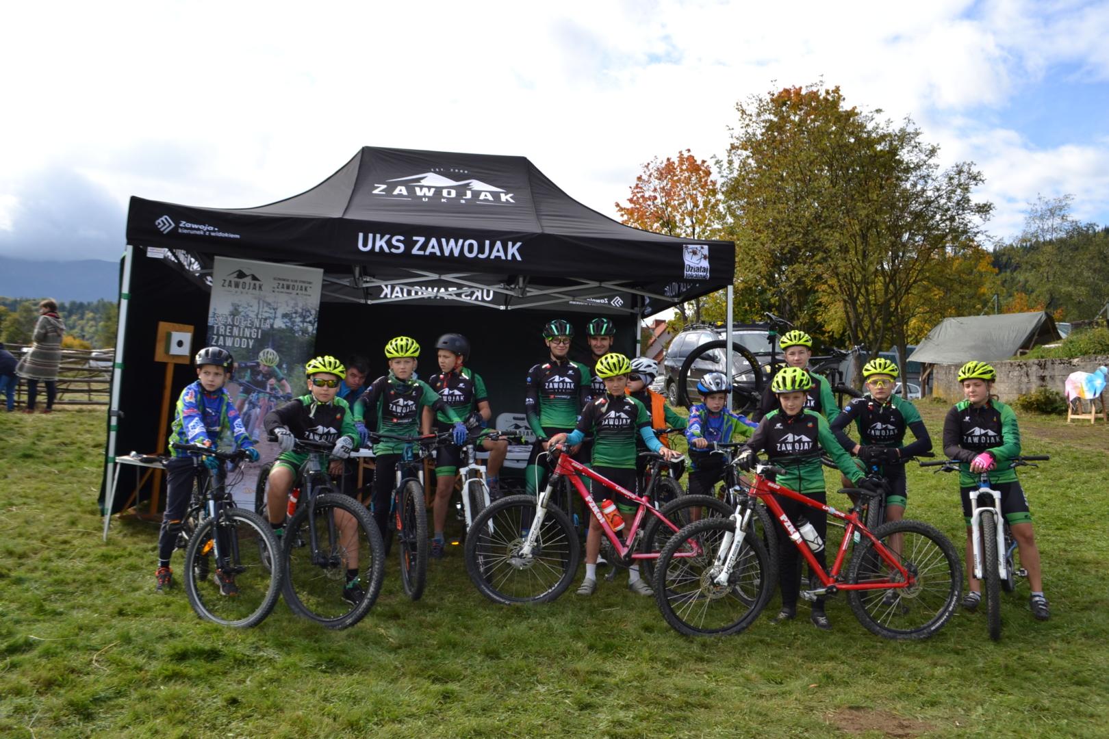 UKS Zawojak zakończył małopolski sezon kolarstwa górskiego