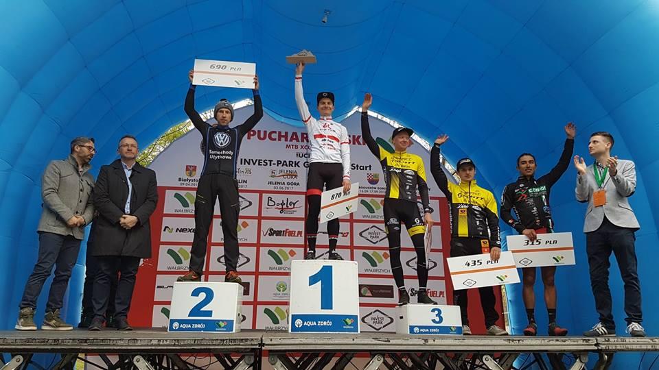Wysokie lokaty kolarzy z Volkswagen Samochody Użytkowe MTB Team w Pucharze Polski