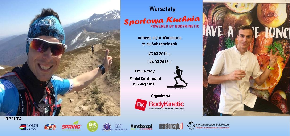 """Zaproszenie na warsztaty """"Sportowa Kuchnia"""""""
