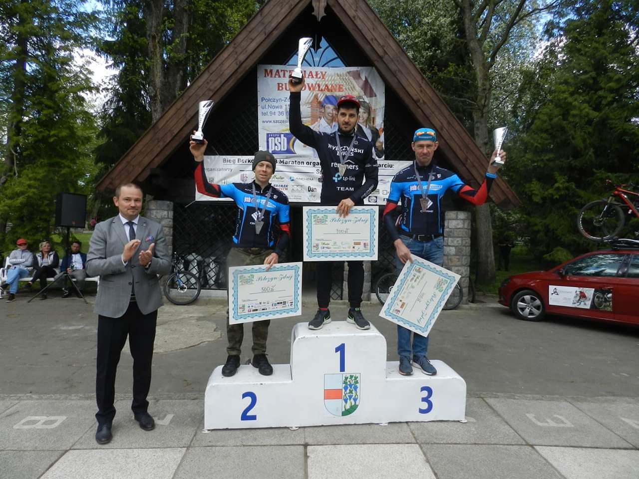 Bartłomiej Oleszczuk (Rybczyński Bikes Remmers TP-Link) – Zachodnia Liga MTB, Połczyn Zdrój
